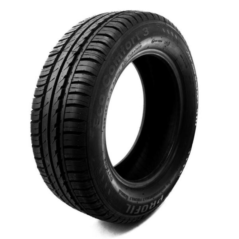 Eco Comfort 3 has asymmetric pattern. This tread is very quiet and is very responsive.