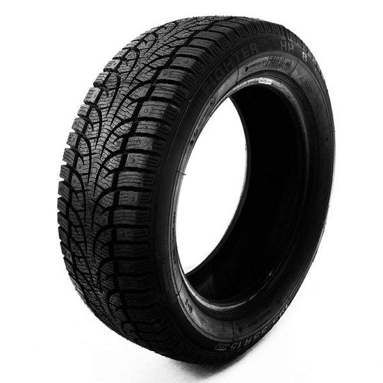 Directional tread great on snow. Typical deep snow tire. Although it is not very noisy